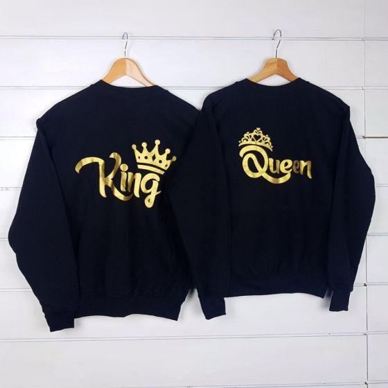 magliette king e queen online